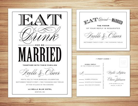 wedding invitations non traditional. wedding. the wedding, Wedding invitations